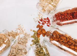 jar of dried foods