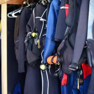 Hanging Wetsuit