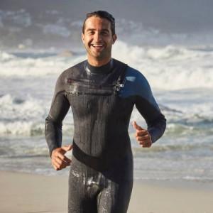 Man wearing a Wetsuit